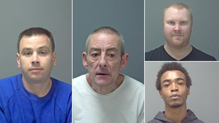 Russell Holman, Christopher Southart, Kevin Parr and Ashmar Levy mugshots