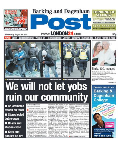 post front page