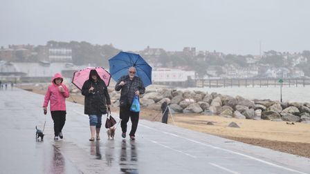 There is a high chance of rain this weekend in Suffolk and Essex