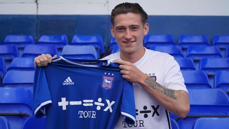 Louie Barry has signed for Ipswich Town, on loan from Aston Villa