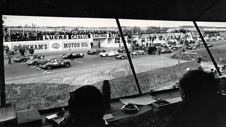 Clubman's formula sports car race at the Snetterton circuit in 1966