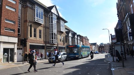 The dispersal order is being enforced by Essex Policein Colchester town centre