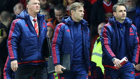 Manchester United manager Louis van Gaal is a man under pressure. Picture by Paul Chesterton/Focus I