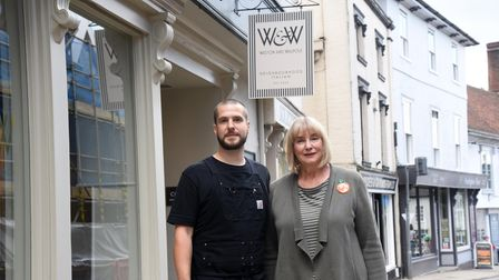 Ruth Watson and Rob Walpole are opening a new Italian restaurant in Framlingham Picture: CHARLOTTE
