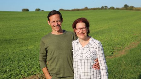 Katharine and Louis Falconer moved to Norfolk to start an Alpaca farm