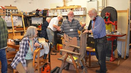 An action group is hoping to bring a Men's Shed to Bury St Edmunds