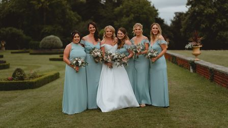 Lucy and Cameron Craig married at Kimberly hall near Wymondham, with their James Bond themed wedding.