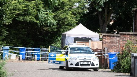 Two men have been arrested on suspicion of murder following the death of a woman in Newmarket. Poli