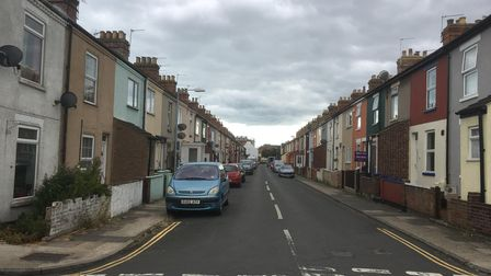 Granville Road, where a cannabis factory was found. Picture: David Hannant