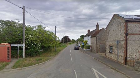 A biker was left with serious injuries after a crash on Old Severalls Road in Methwold