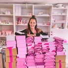 Hollie Ikins set up Poppys Norfolk in January, selling wax melts, candles and other gifts, and it has proved a huge success.