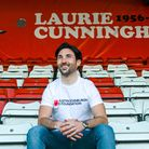 Stand-up comic Josh James... sitting in Leyton Orient's grounds