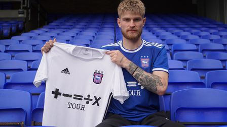 Ipswich Town have signed Hayden Coulson on a season-long loan from Middlesbrough.