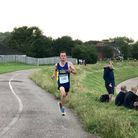 Sam Kelly was the fastest Exmouth Harrier