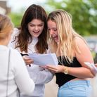 Students at Farlingaye opening their A-Level results. Picture: Sarah Lucy Brown