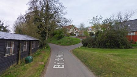 Entry was gained to a garage on Brick Kiln Lane in the village of Huntingfield near Halesworth.