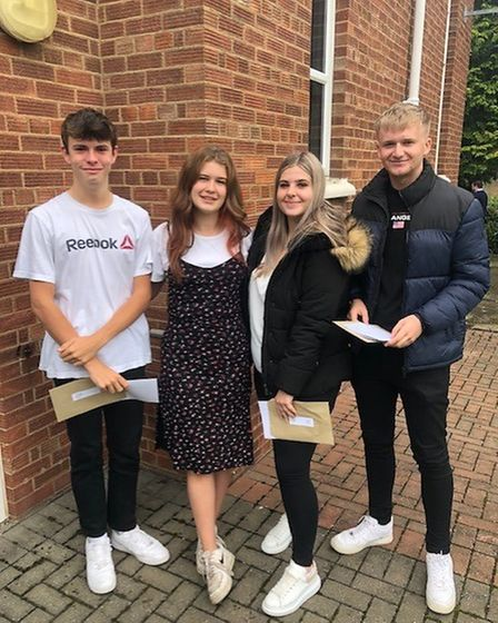 Cromwell Community College Chatteris as A level results are announced