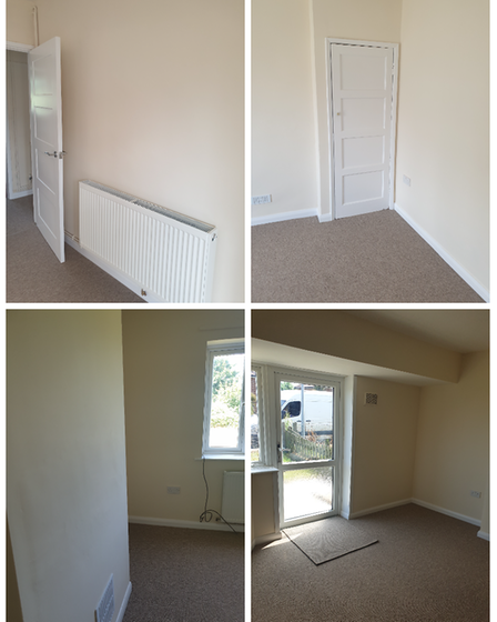 The newly-fitted out interiors of the homes inNorthfield Waye,