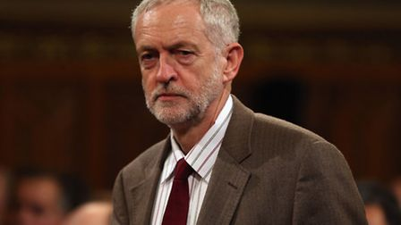 Jeremy Corbyn is against extending airstrikes to Syria, putting him at odds with many Labour MPs. Ph