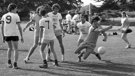 A variety of different sport was played throughout the day, some lesser known such as Handball Pict