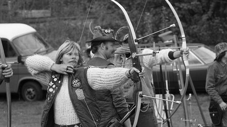 Archery at the Festival of Sport in Sudbury, May1984