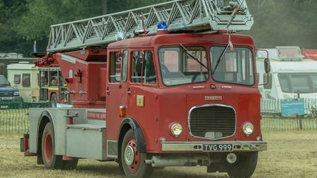 A vintage fire engine is among the visiting exhibitors coming to the Thursford gala day