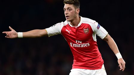 Arsenal's Mesut Ozil is just one of the men Norwich City must stop on Sunday. Photo: Adam Davy/PA Wi