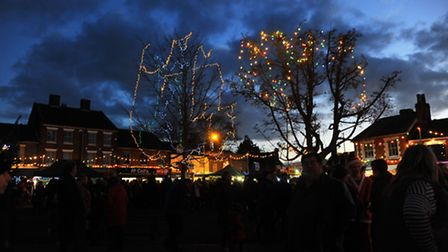 Attleborough Christmas Lights go on 2014Picture by: Sonya Duncan