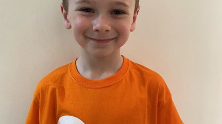 Aiden walked, ran and cycled the marathon distance to raise money for the charity Centrepoint.