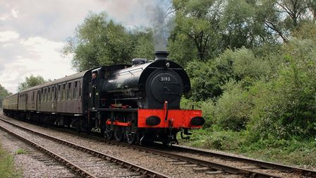 Steam locomotive 3193 Norfolk Regiment is leaving Bressingham to spend a month atNorthampton and Lamport Railway