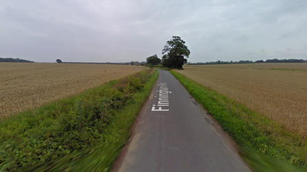 One person has been taken to hospital following a crash involving two vehicles
