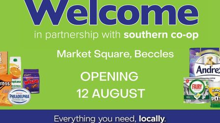 The Welcome convenience storein partnership with the Southern Co-op.