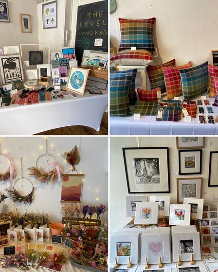 The Lovely Handmade pop-up shops showcaseartists and makers
