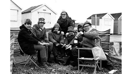 Members of the 6th Ipswich Boys Brigade took part in a marathon sponsored 'fish-in' at Manor End, Felixstowe in 1972