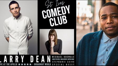 St Ives Comedy Club returns to the corn exchange next month.