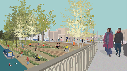An idea of what March town centre thanks to high street project