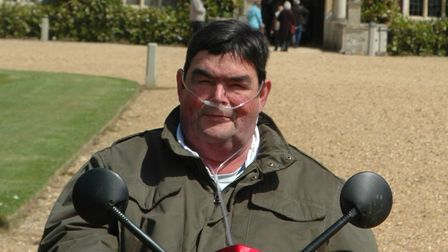 Dave Johnson has raised concerns that he was put at unnecessary risk when Covid patients were brought on to the ward.