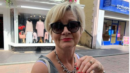 Mandy Burrows, 62 from Norwich.