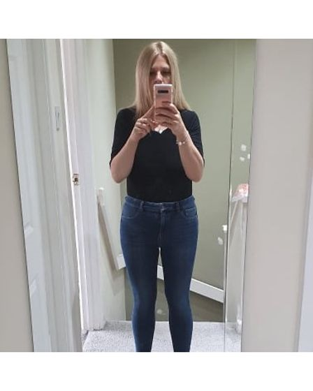 Emma Woods of Whittlesey has lost five and a half stone in under eight months.