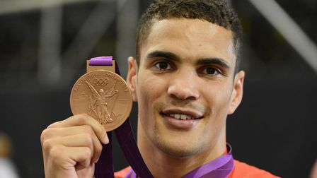 Anthony Ogogo took home a bronze medal to Lowestoft at the 2012 Olympics.