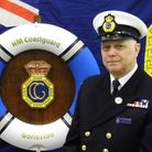 Graham Joel has been volunteering for the coastguard for 30 years. Picture: Supplied