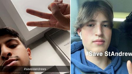 Teenagers start their own social media campaign