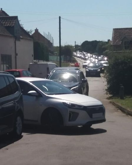 Busy roads in Brancaster. The Brancaster Parking and Safety Team has