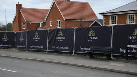 The Mulberry Grove housing development by Hopkins Homes on Norwich Road in North Walsham.Picture: MA