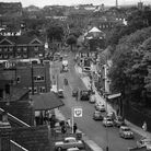 Norwich Streets -- PPrince of Wales Road taken from the top of the Post Office building in Thorp