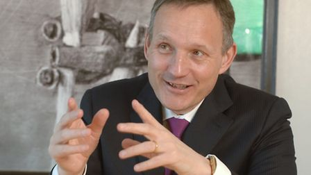 Undated handout photo issued by Newscast of Barclays Group Chief Executive Antony Jenkins. Photo: N