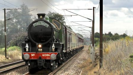 The Historic Mayflower started its journey at Colchester train station