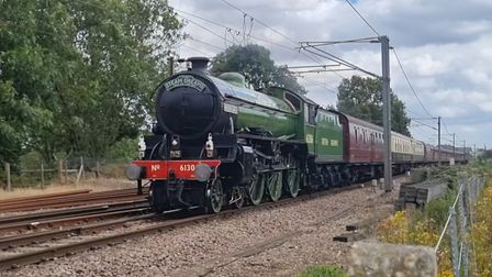 Frankie Ryan, aged seven, captured this lovely image of the steam train