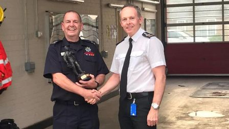 Chatteris firefighter Roger Nunn is retiring after serving his town for 44 years.