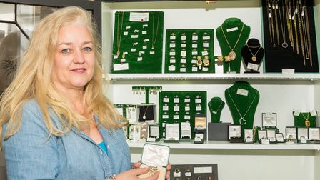 Heather of Heather B Designs The Jewellers, Great Dunmow, Essex